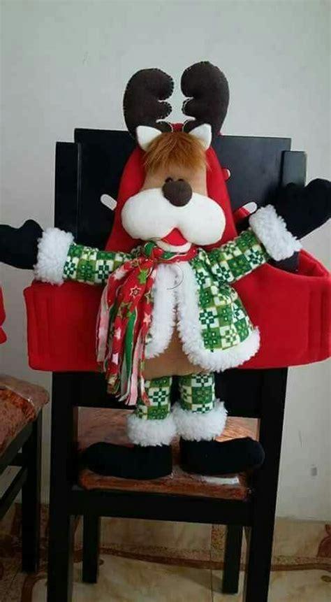 ver moldes navidena manualidades navidad cubresillas