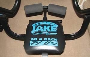 Body By Jake Ab  U0026 Back Plus Exercise Machine W   Manual