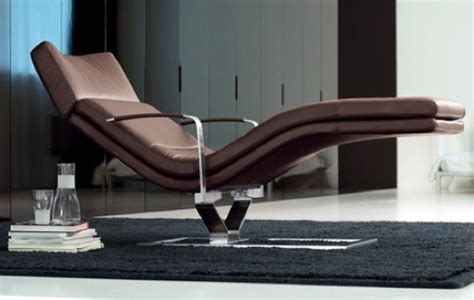 chaise longue interieur comfortable chair to relax modern and