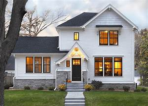 25 White Exterior Ideas for a Bright, Modern Home