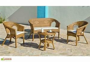 Salon De Jardin Rotin Tressé : salon de jardin en rotin tress canap 2 fauteuils table basse en 2019 mobilier de ~ Melissatoandfro.com Idées de Décoration