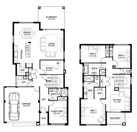 2 floor plans 5 bedroom 3 bath floor plans 2 4 bedroom 3 bath