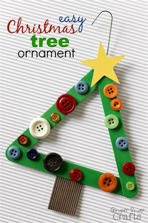 how to make small cute ornaments snap crafts popsicle stick rudolf ornament tutorial