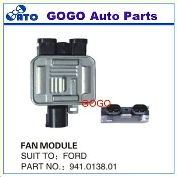 high quality cooling fan unit module relay radiator coolant fan for ford mondeo