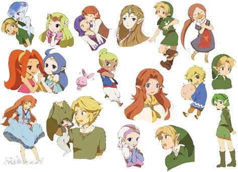 Anju Zelda Blonde Hair Blue Eyes Blue Hair Boots Brown