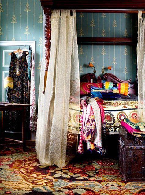 colorful gypsy bedroom interior design