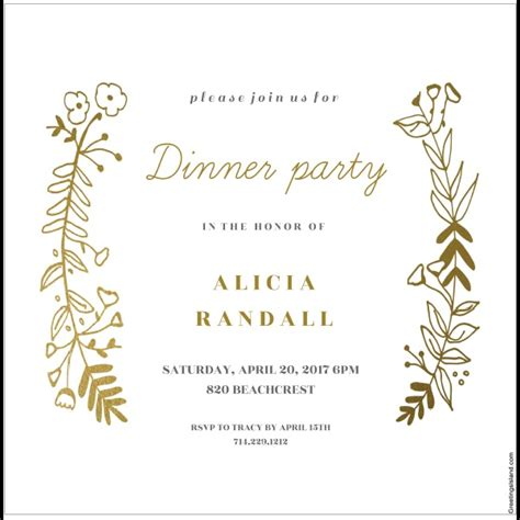 Invitation For Lunch Party Samples Shilohmidwifery com