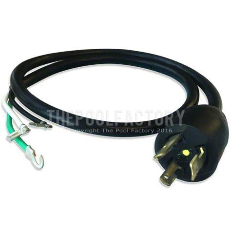 pump power cord  twist lock plug