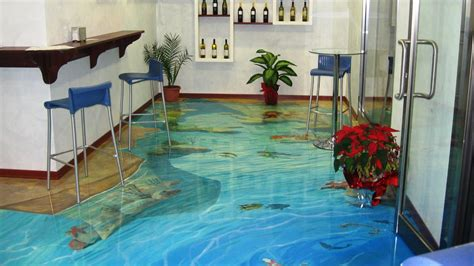 Metallic epoxy resin dirty pour done over existing floor   installing epoxy floor made easy. 3D Epoxy Resin Floor Coating Designs Ideas - Decor Units