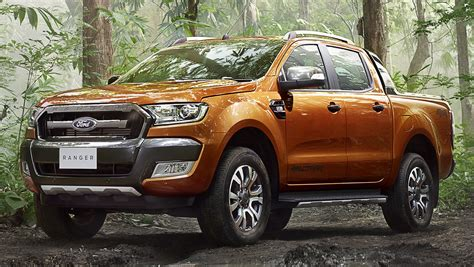 Ford Ranger Wildtrak facelift unveiled with new tech Paul ...