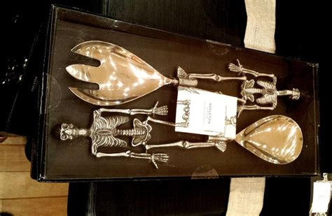 Pottery Barn Skeleton by Pottery Barn Silver And Glass 2015