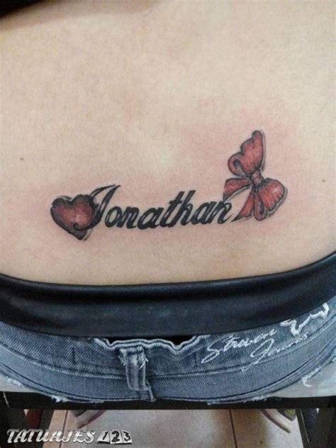 nombre jonathan tatuajes