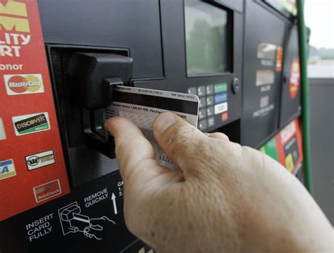fuel pumps  susceptible  credit card skimmers