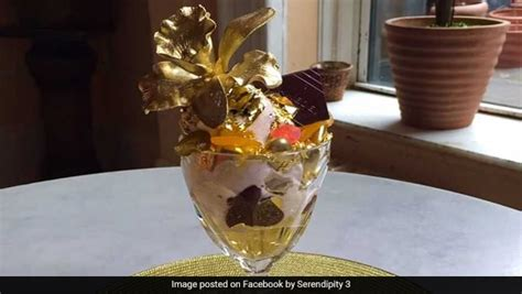 The Golden Opulence Sundae by The Golden Opulence What Goes Into The 1000