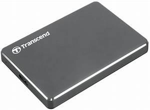 Buy Transcend TS1TSJ25C3N StoreJet Extra Slim USB 3.0 ...