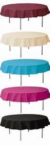 Nappe Pour Table Ronde : nappe ronde ~ Teatrodelosmanantiales.com Idées de Décoration