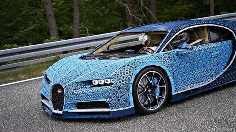 I am impressed at the precision and refinement with which our super sports car has been translated into the lego world. hmm, are you sure, stephan? News - The Drivable Life-Size Bugatti Chiron Made Of Lego