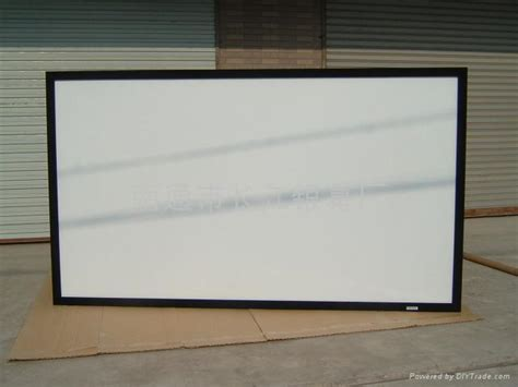 wall mounted projection screen richvision china