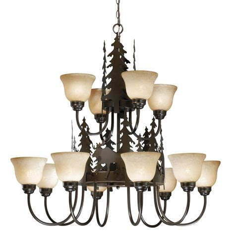 Timberland Lighting rustic chandeliers timberland chandelier with 12 lights
