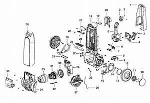 Electrolux Model El5035a Vacuum  Upright Genuine Parts