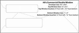 double window envelope template - envelope templates commercial window envelope template