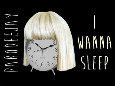 Chandeliers Sia by Quot I Wanna Sleep Quot Of Quot Chandelier Quot By Sia