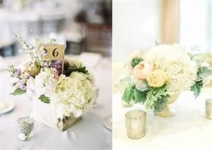 fleurs 10 idees pour decorer son mariage avec des hortensias With chambre bébé design avec fleurs pour mariage champetre
