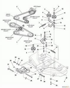 Murray 107 277740  2690429   50 Mower Deck  2005   Sears  44  U0026 50