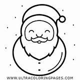 Ausmalbilder Bart Weihnachtsmann Coloring sketch template