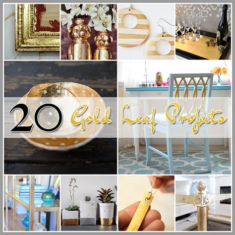 gold leaf projects  cottage market