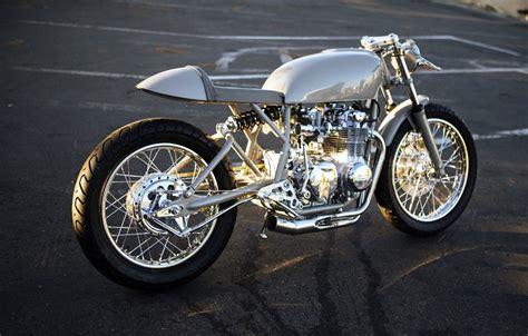 grey ghost cb550k cafe racer bikebound