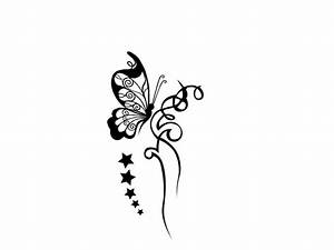 Black And White Butterfly Tattoos Designs - Tattoos Book ...