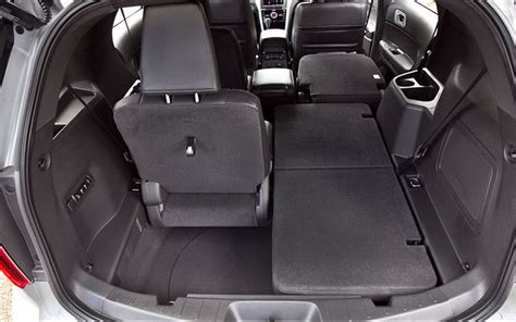 Ford explorer cargo space dimensions
