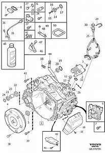 Volvo S80 Wiring Harness  Gearbox  Automatic  Transmission