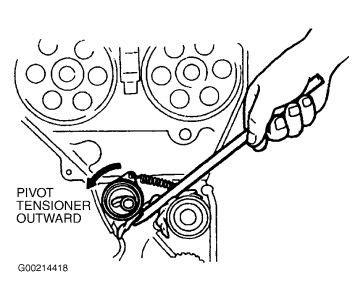 kia sportage replacing timing belt   bolts