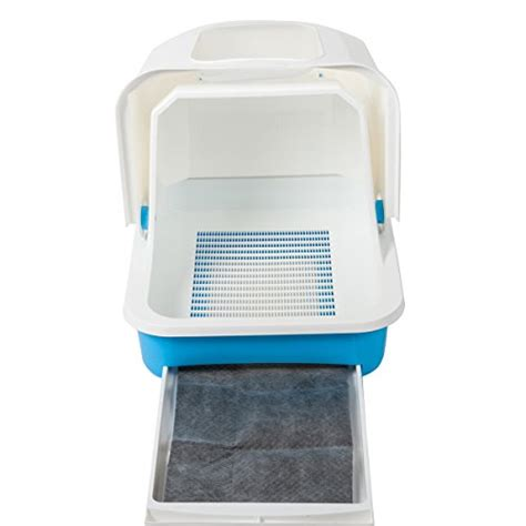 covered litter box favorite enclosed large easy clean white covered cat
