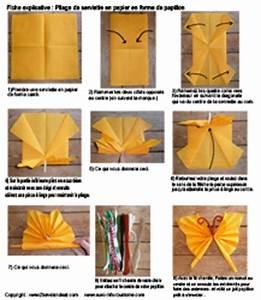 Pliage De Serviette Papillon : pliage de serviettes de table en papier pliage de papier origami deocration de table plier ~ Melissatoandfro.com Idées de Décoration