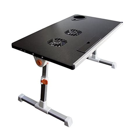 adjustable portable laptop table stand portable height adjustable folding aluminium laptop stand
