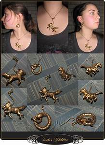 Loki's Children Jewelry Set by AidanAsha on DeviantArt