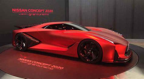 nissan concept  vision gran turismo en el auto show