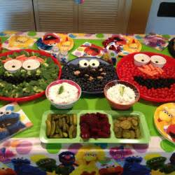 Sesame Street Birthday Party Food Ideas