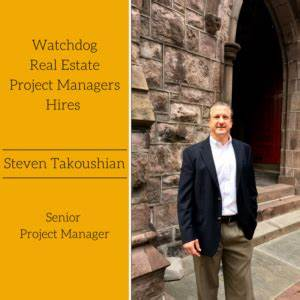 Watchdog Real Estate Project Managers Hires Steven ...