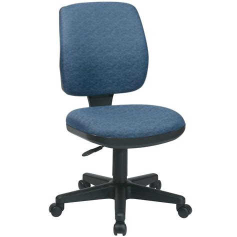 armless desk chair armless task chairs for home office