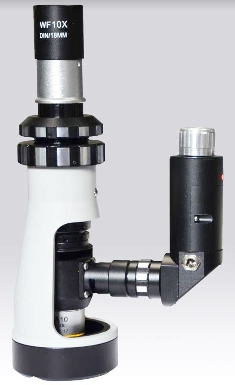portable metallurgical microscope gxm fm gt vision