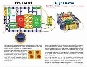 Amazon Com  Snap Circuits R  C Snap Rover Electronics