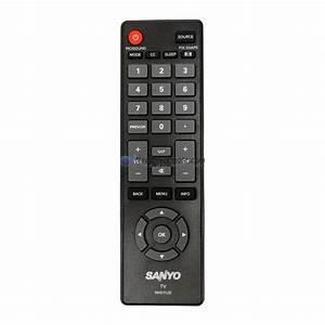 Genuine Sanyo Nh311ud Tv Remote Control
