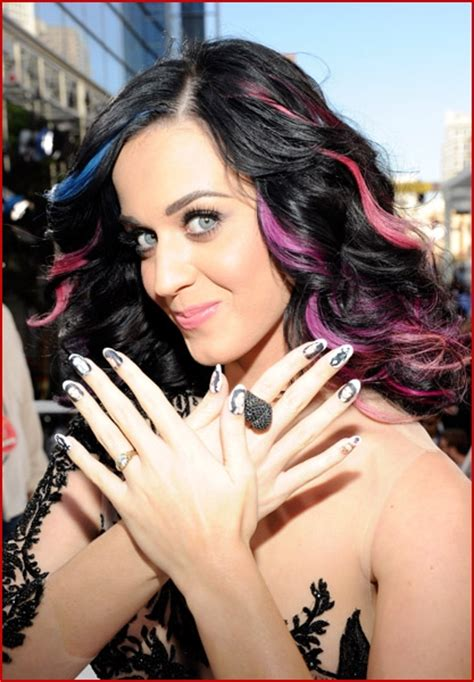 Katy Perry Color Streaks My New Hair