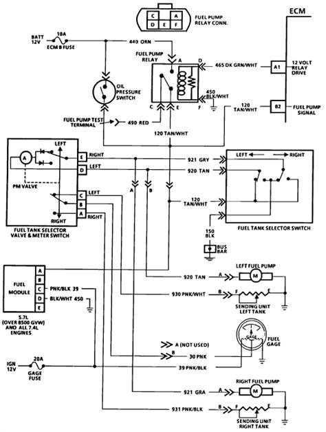 1989 Chevy Wiring Diagram by I Need A Wiring Diagram For A 1989 Chevy 3500 Fuel