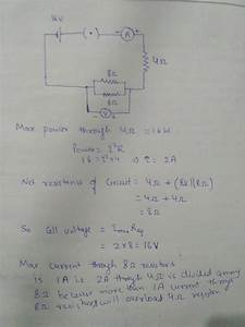 Draw A Circuit Diagram Of An Electric Circuit Containing A Cell  A Key   An Ammeter   A Resistor