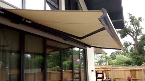 electric awning premier blinds awnings    youtube